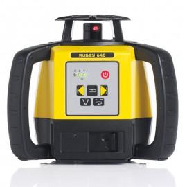 e-Leica - Niwelator laserowy Leica RUGBY 640, RE 160 Digital, Li-Ion